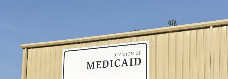 Medicaid uppdelning royaltyfri fotografi