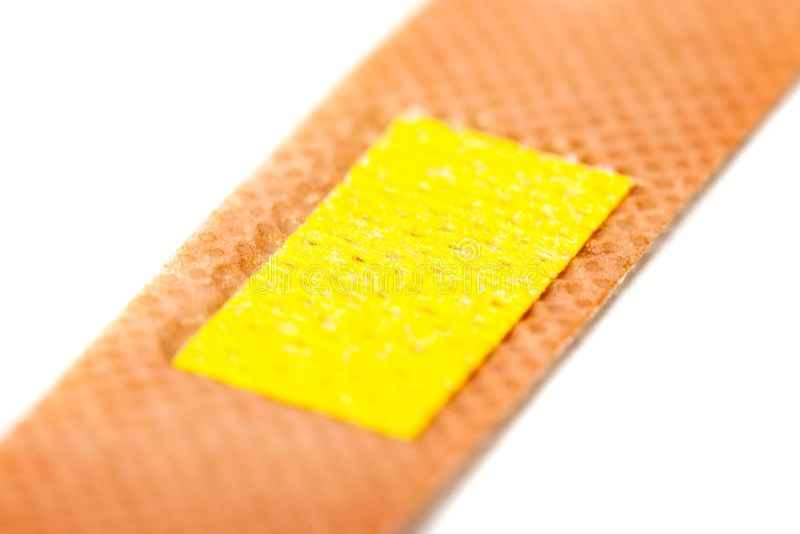 Medical adhesive bandage isolated on white background royalty free stock photo