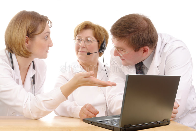 Download Medical advice stock photo. Image of consultation, analysis - 4373306