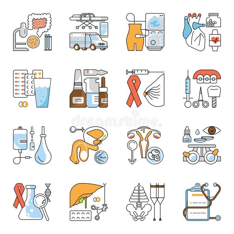 Medical aid concept stock illustration