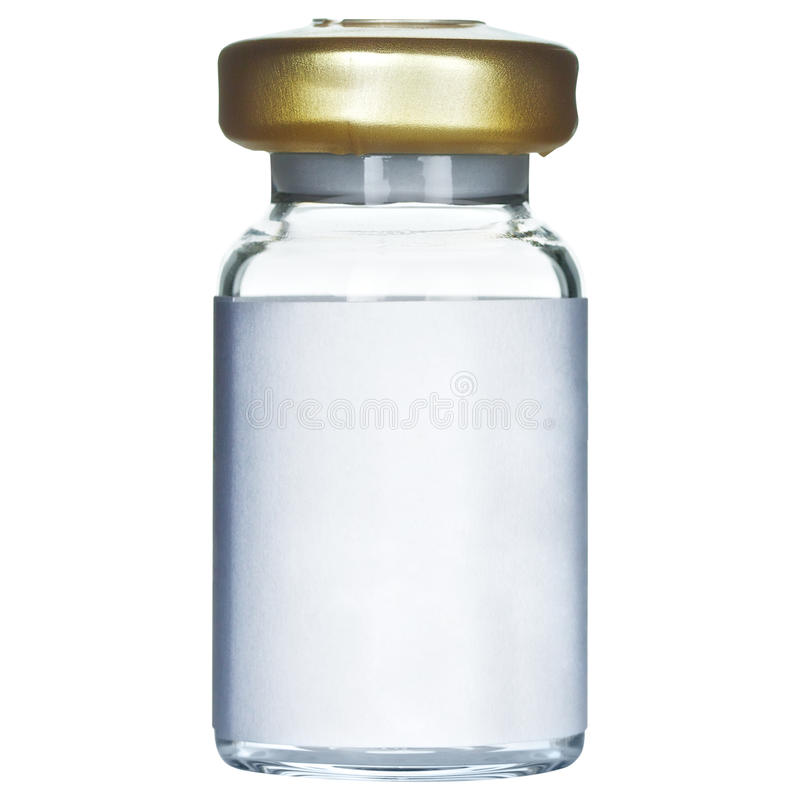 Medical Ampoule royalty free stock image