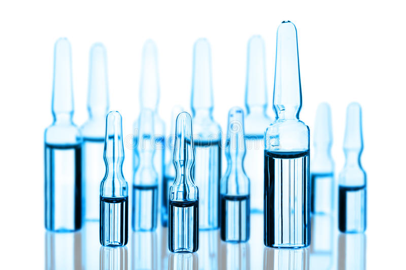 Medical Ampoules Royalty Free Stock Photo