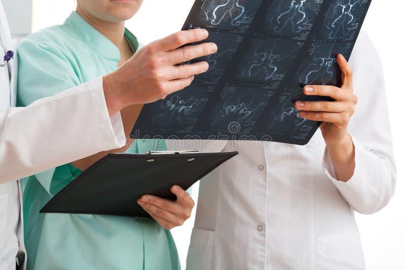 Medical analysis stock image