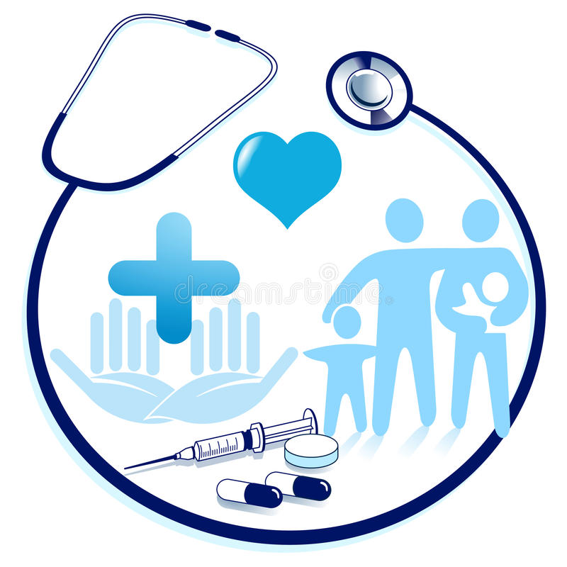 Download Medical attendance stock vector. Image of family, test - 16672091