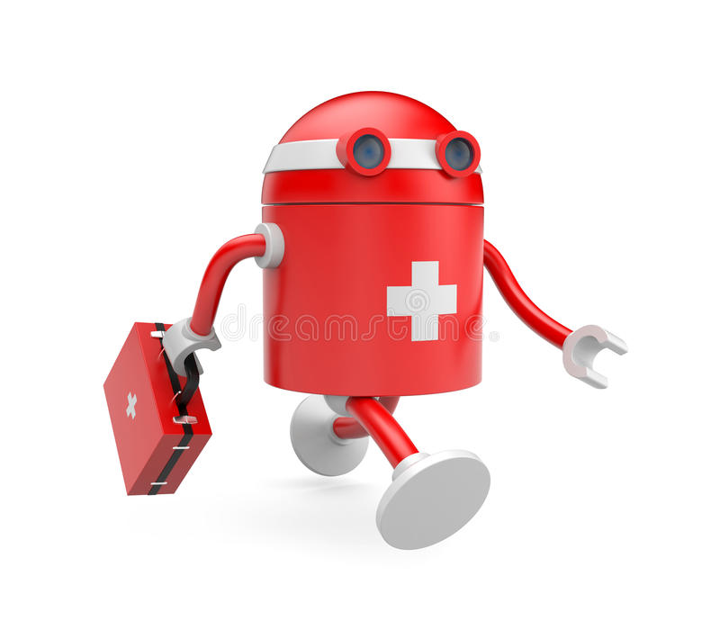 Download Medical bot stock illustration. Image of medic, medical - 19336423