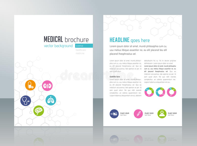 Medical Brochure Template Stock Vector  Image