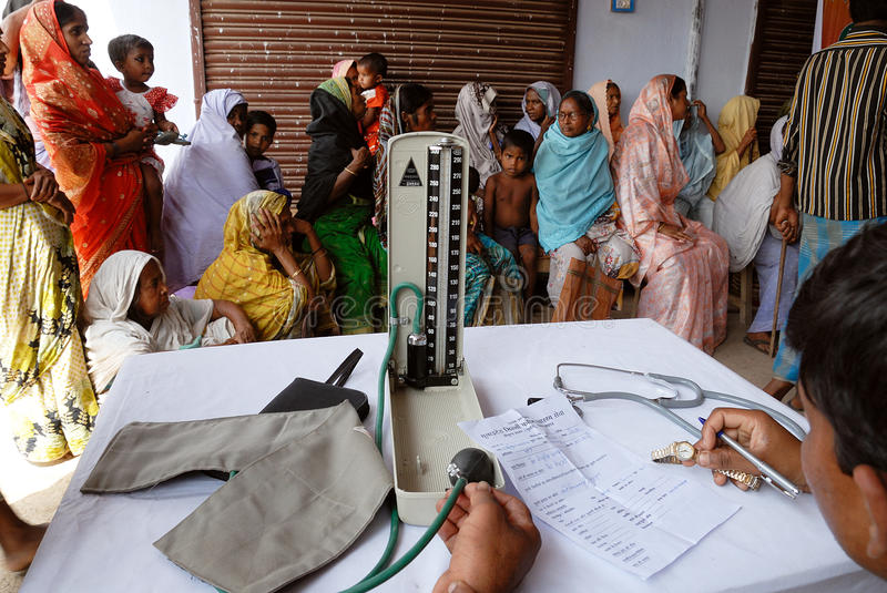 Download Medical camp editorial image. Image of patient, pressure - 13742635