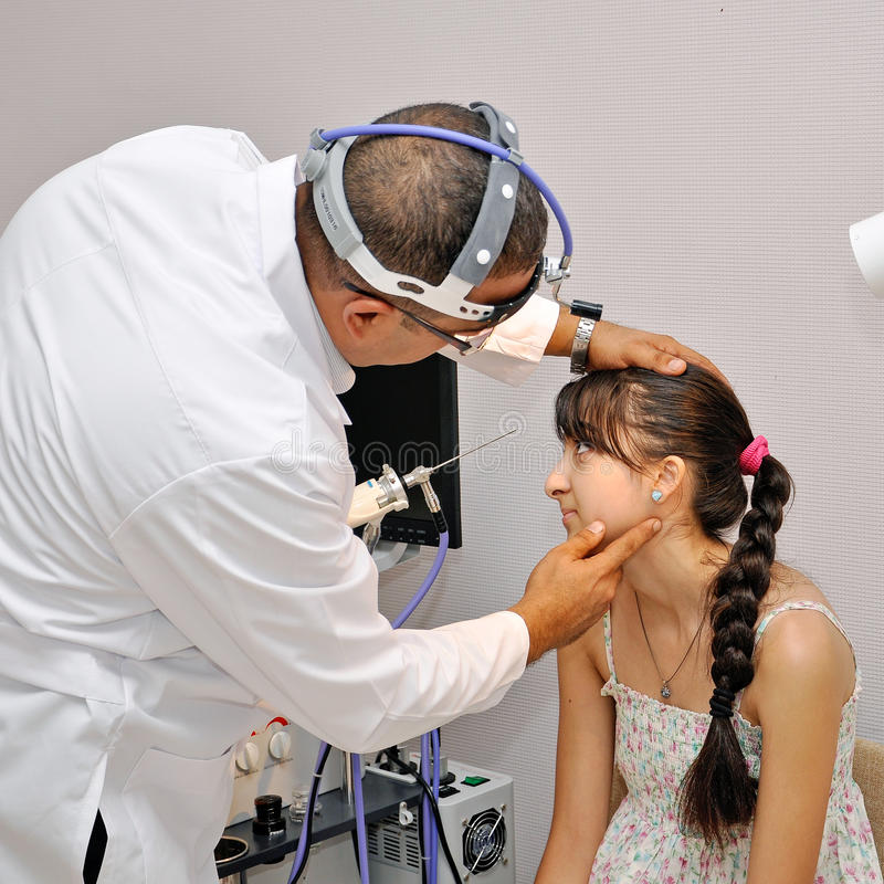 Medical center 11 stock image