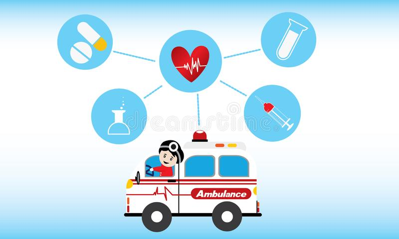 Medical character concepts vector illustration