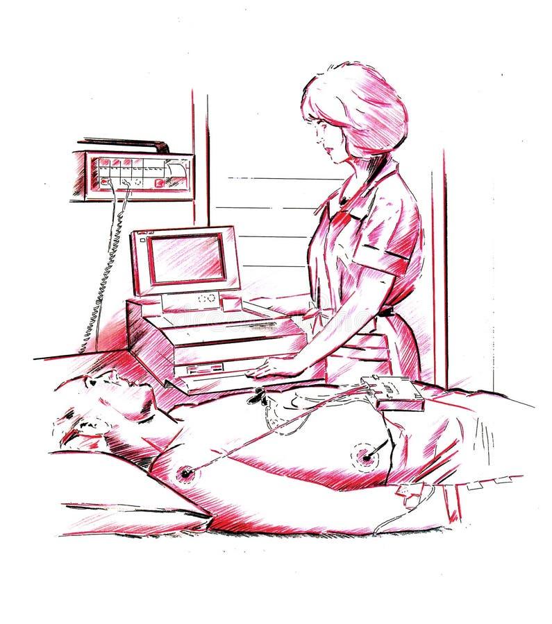 Download Medical check stock illustration. Image of checkup, checking - 554420