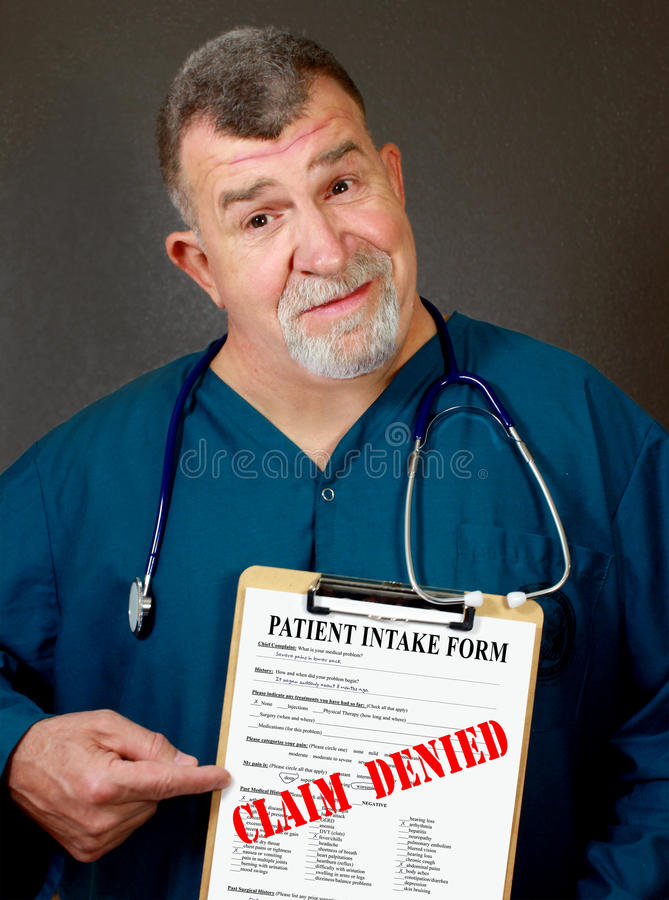 Free Medical Claim Denied Stock Images - 29625944