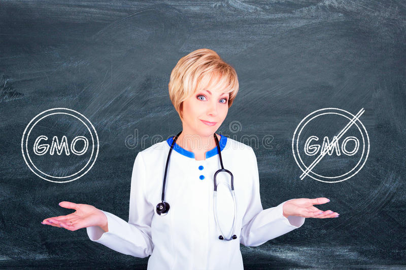 Medical concept. Doctor at work stock images