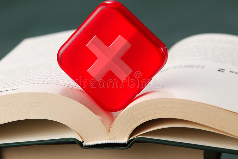 Medical course royalty free stock photography