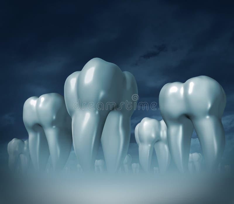 Medical Dental Care royalty free illustration