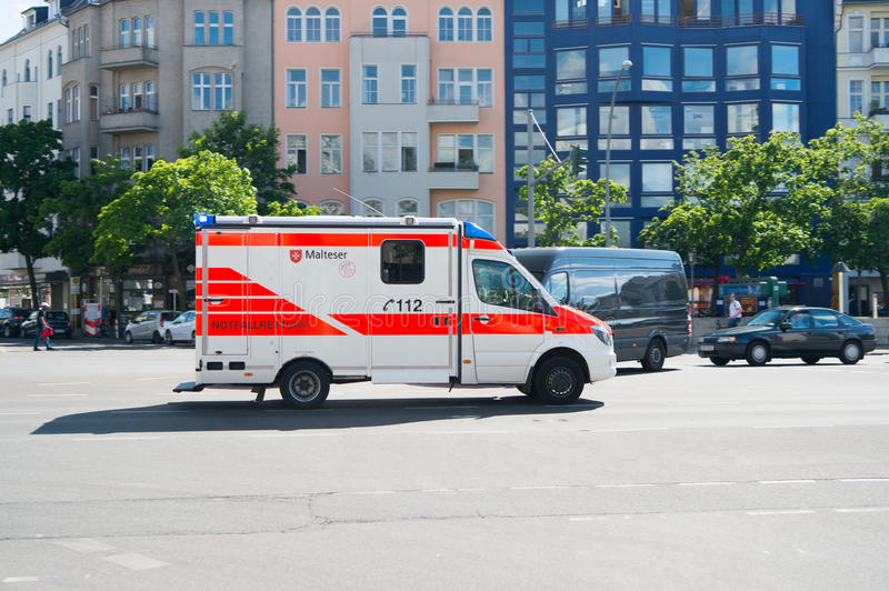 Medical Department service car royalty free stock photography