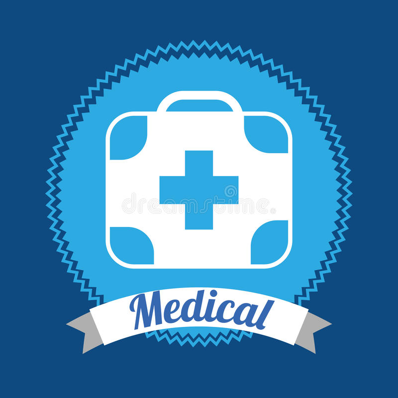 Medical design. Medical graphic design , vector illustration vector illustration