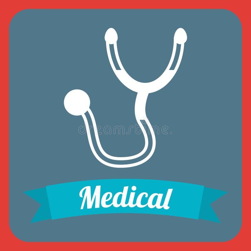 Medical design. Medical graphic design , vector illustration stock illustration