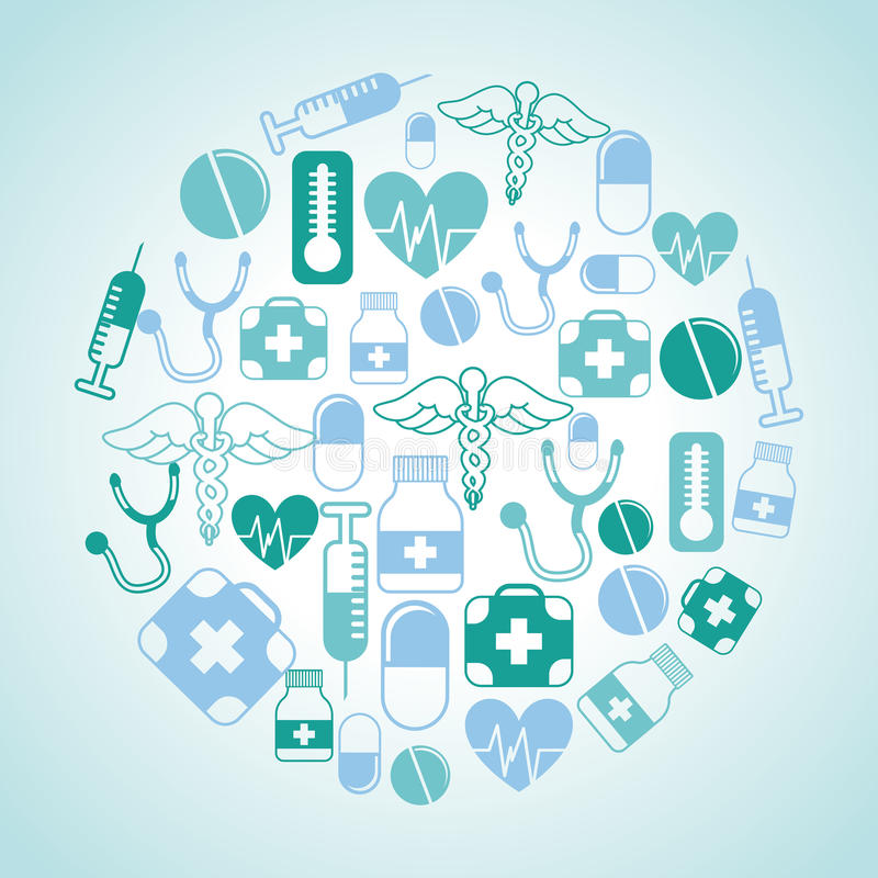 Medical design vector illustration