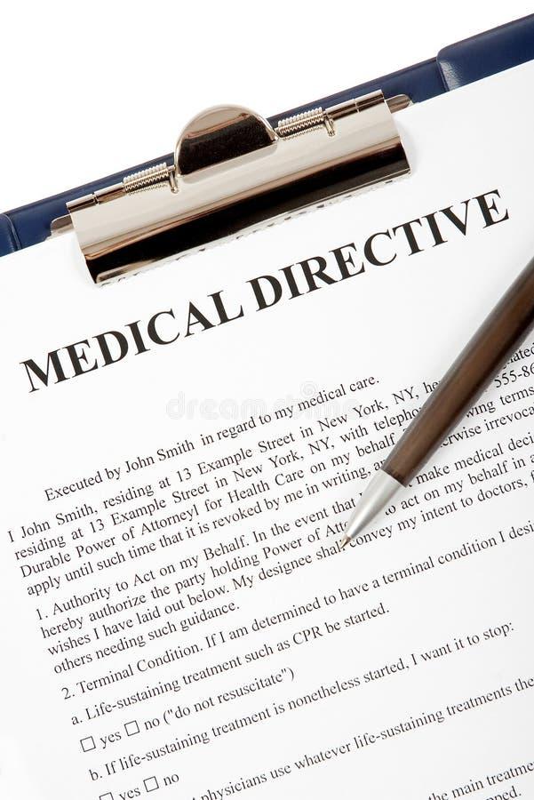 Medical directive document