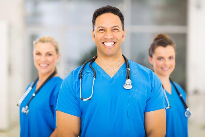 Medical doctor colleagues stock photos
