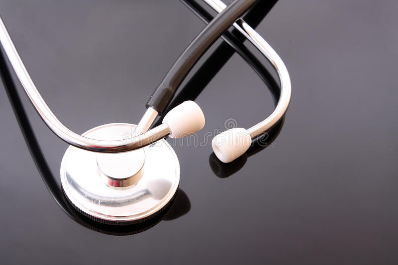 Medical doctor stethoscope royalty free stock image