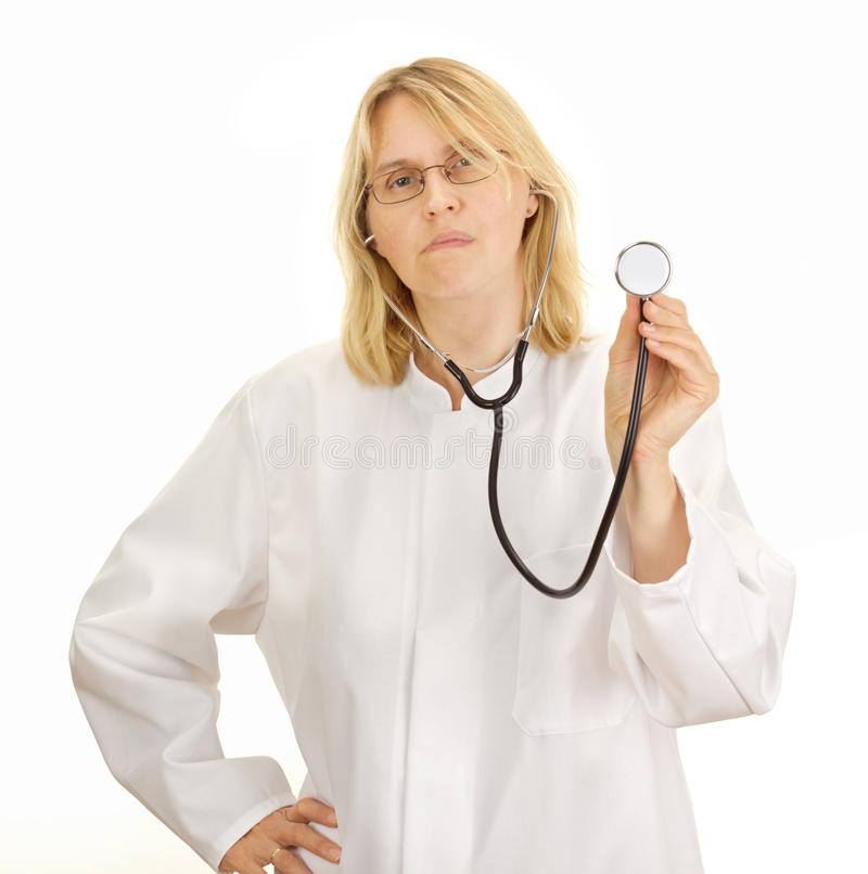 Download Medical Doctor Waiting For The Next Patient Stock Image - Image of motivated, premedical: 26554315