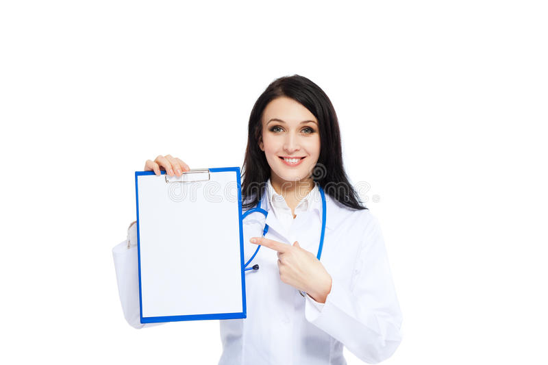 Download Medical doctor woman stock image. Image of advertisement - 24459281