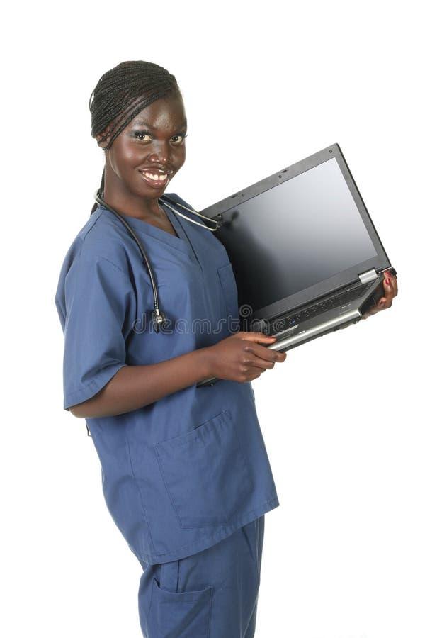 Medical employee stock image