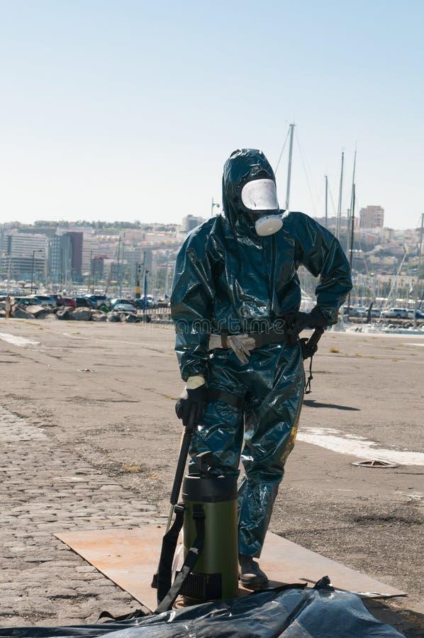 Medical equipment for ebola or virus pandemic. Medical equipment for ebola or other virus pandemic stock photo