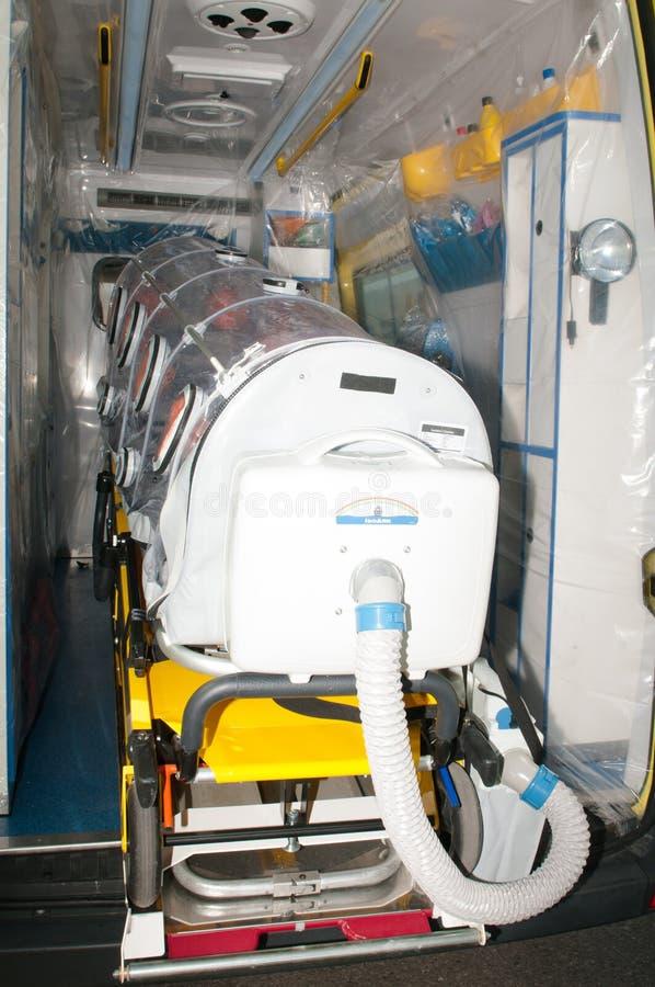 Medical equipment for ebola or virus pandemic. Medical equipment for ebola or other virus pandemic stock image