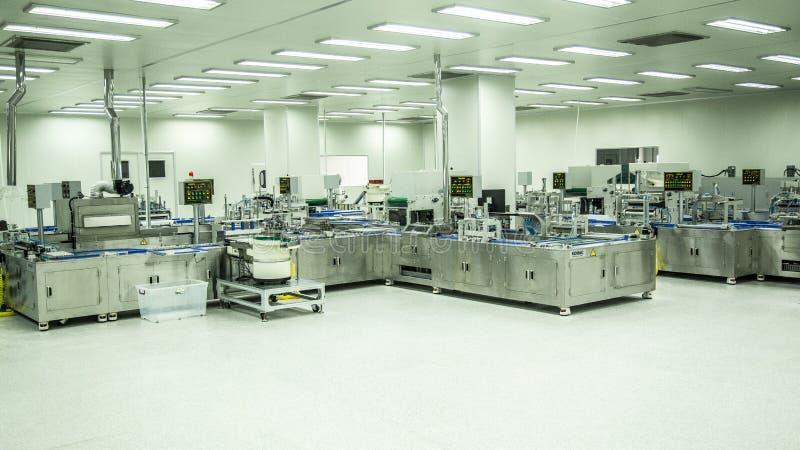 Medical equipment. Mass produce - needles royalty free stock photo