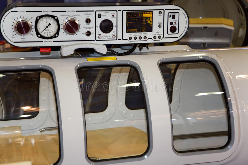 Download The Medical Equipment, Pressure Chamber. Stock Image - Image: 14059649
