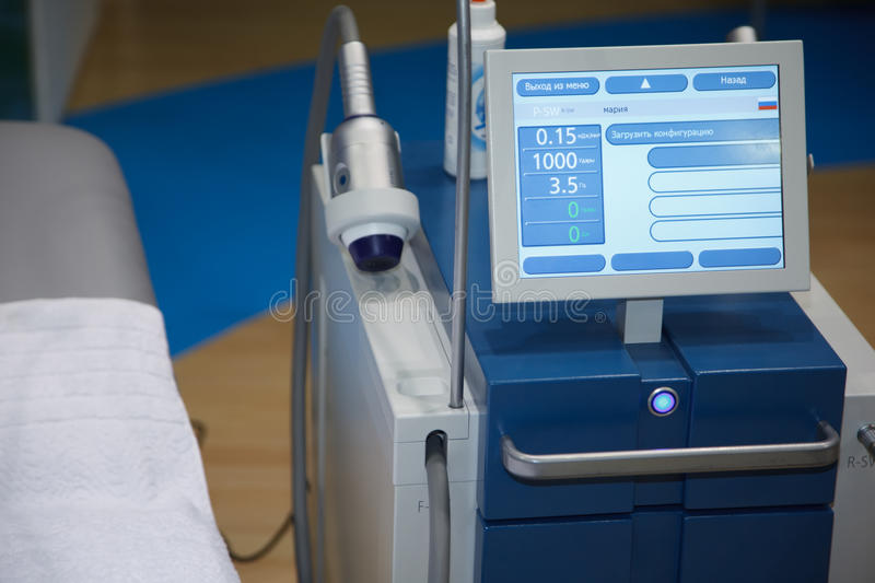 Medical Equipment ultrasound scanning. Diagnosis of pregnancy stock images