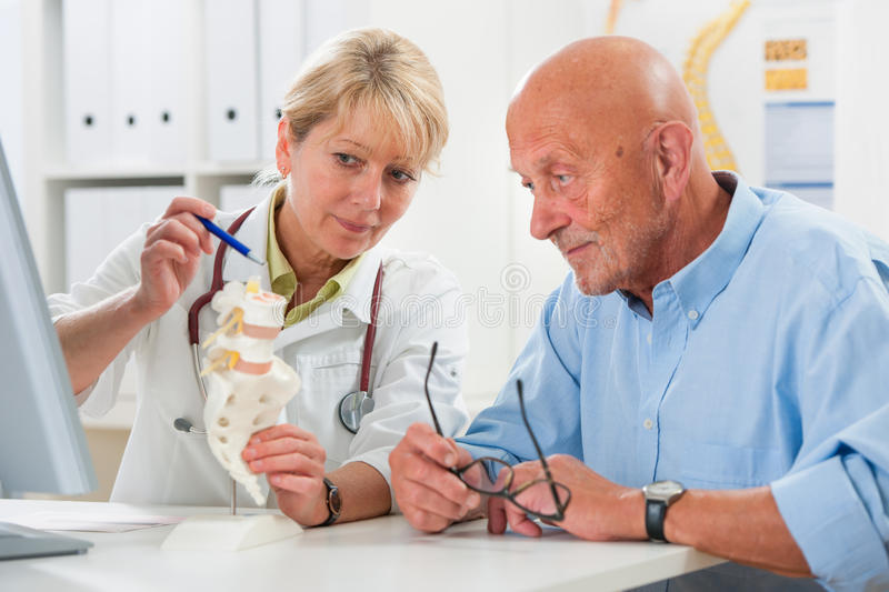 Medical exam stock photography