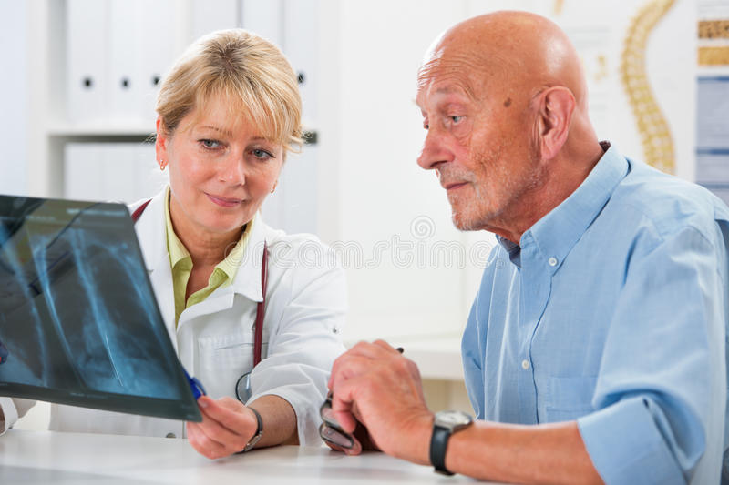 Medical exam royalty free stock photos