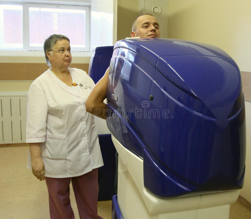 Download Medical Examination At The Recruitment Center Editorial Photography - Image: 14880377