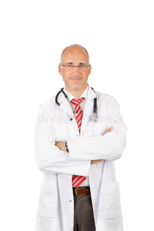 Download Medical with folded arms stock photo. Image of portrait - 31196650