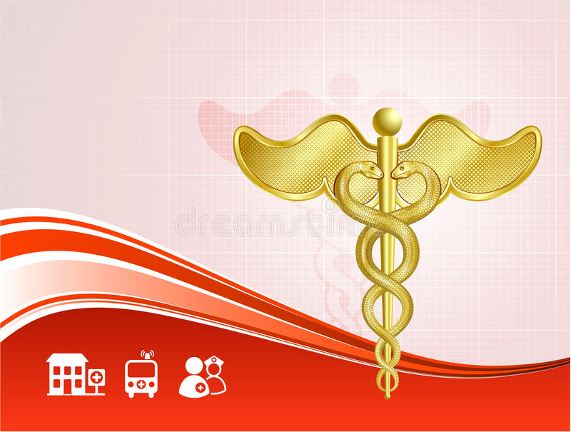Medical health care background royalty free illustration