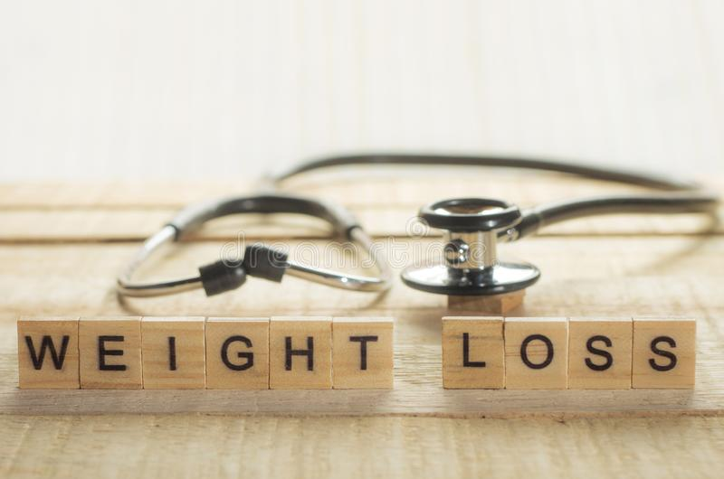 Medical and Health Care Concept, Weight Loss royalty free stock photo