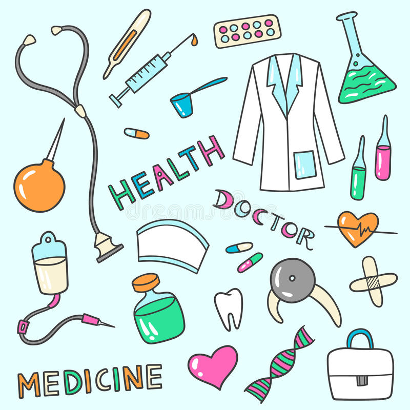 Download Medical And Health Care Icons Stock Vector - Image: 78679046
