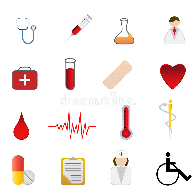 Download Medical And Health Care Symbols Editorial Photography - Image: 15385222
