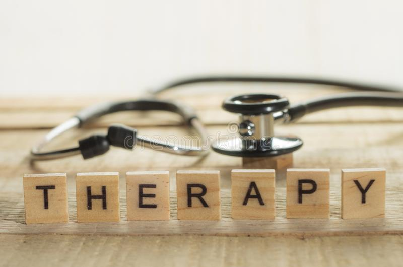 Medical and Health Care Concept, Therapy stock image