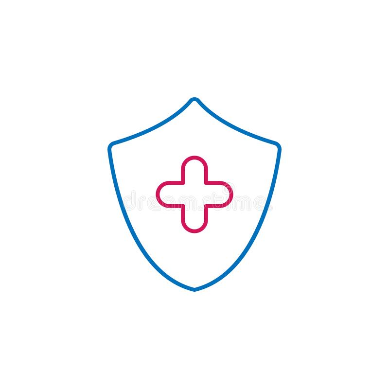 Medical, health protection colored icon. Element of medicine illustration. Signs and symbols icon can be used for web, logo, stock illustration