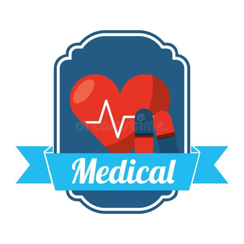 Medical healthcare design. Illustration eps10 graphic stock illustration
