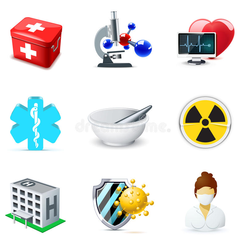 Download Medical And Healthcare Icons | Bella Series Stock Vector - Image: 19583143