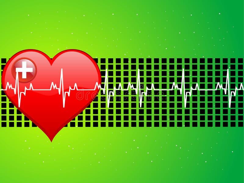 Medical heart vector illustration
