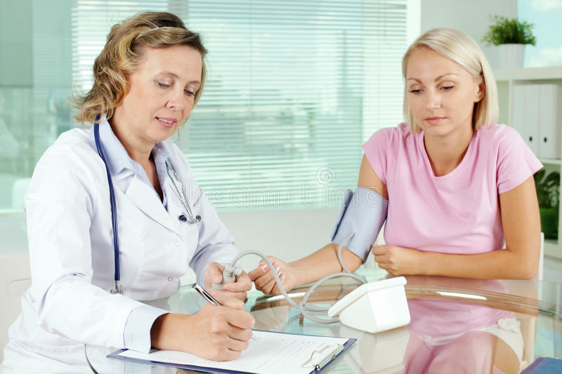 Medical help stock image