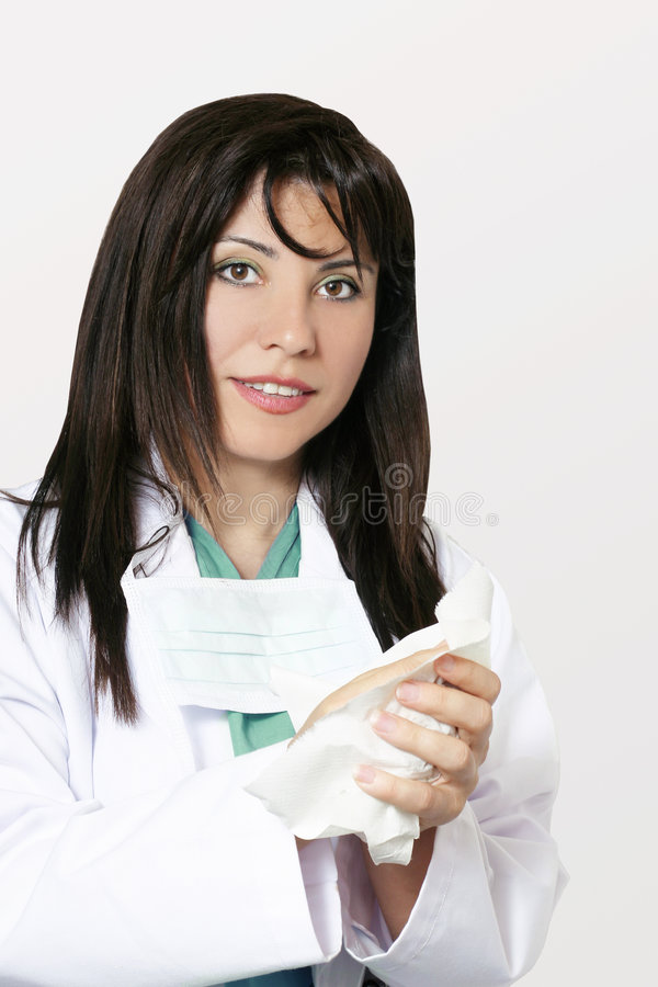 Medical hygiene royalty free stock photos