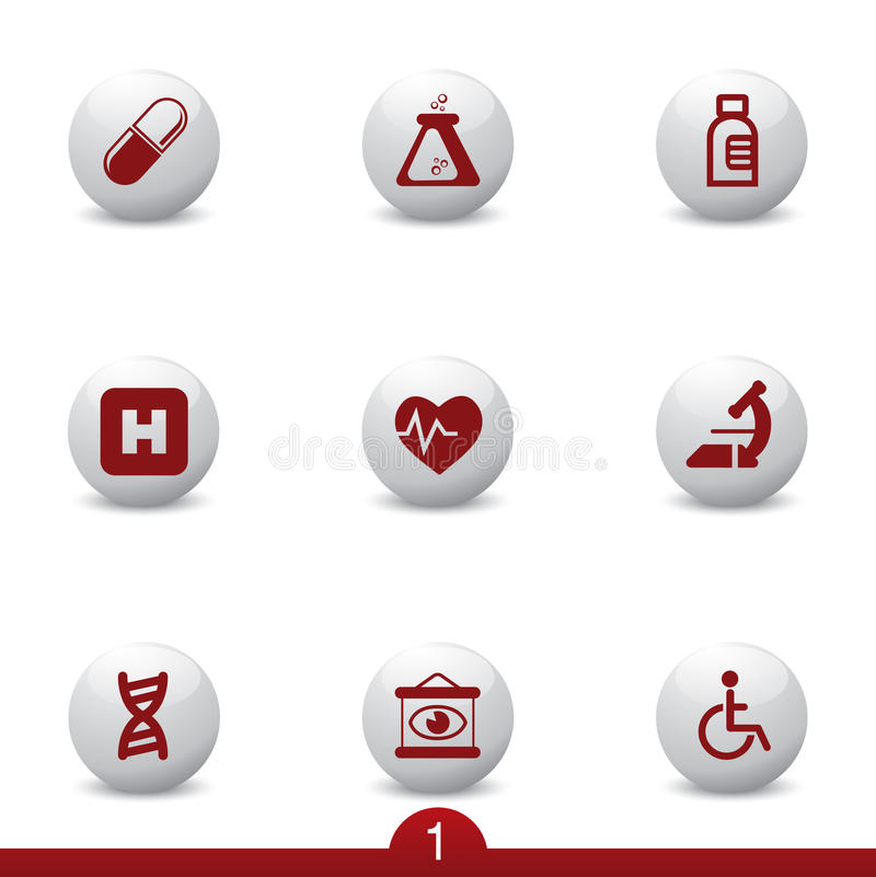 Free Medical Icon Series Royalty Free Stock Photo - 13193465