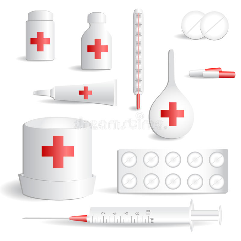 Medical icon set _2 royalty free illustration